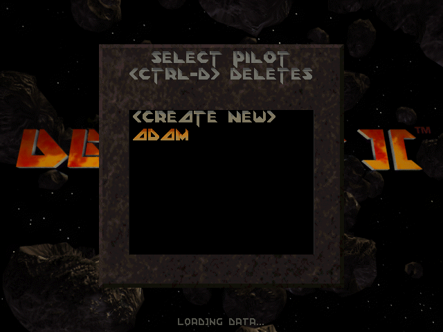 Descent 2: Select pilot