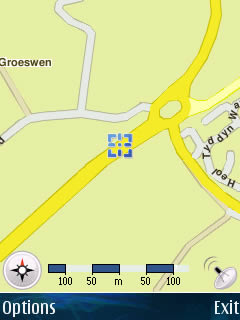 Example Usage: Trip home from University - GPS Screenshot 8