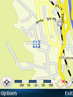 Example Usage: Trip to University - GPS Screenshot 15