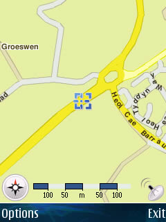 Example Usage: Trip to University - GPS Screenshot 7
